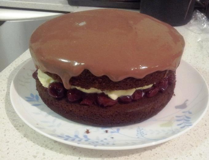 iced cake