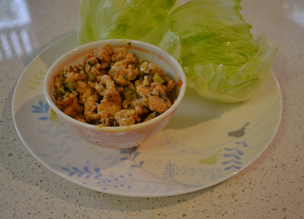 Thai Chicken Larb 1